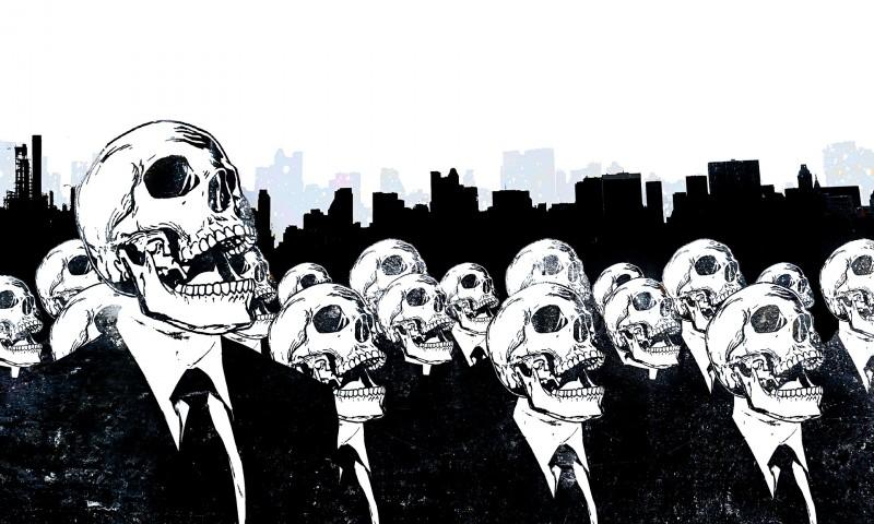 Нездоровое общество