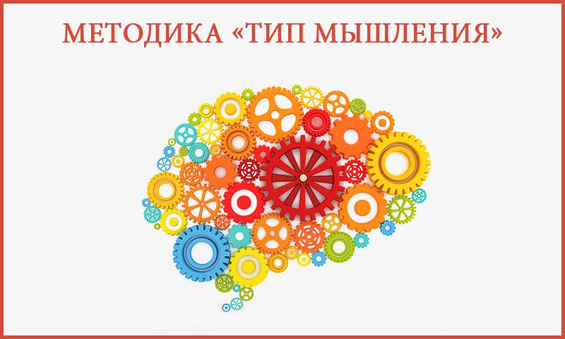 Методика «Тип мышления»