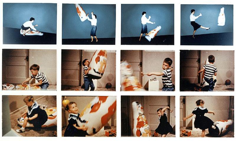 Психологический эксперимент Альберта Бандуры — «Кукла Бобо»