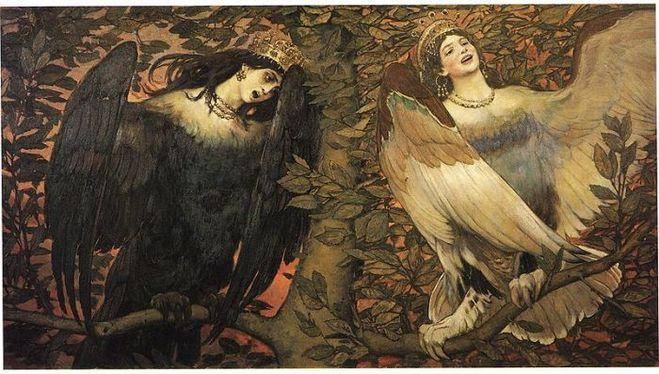 Архетип птицы в мифологии, сказках, Библии (6)